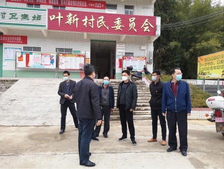 县挂点华阳镇领导、我院党组书记、院长张晓辉深入到华阳镇督查疫情防控工作