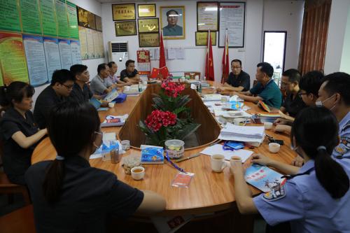 10月16日,五华法院开展扫黑除恶专项斗争进社区宣传活动